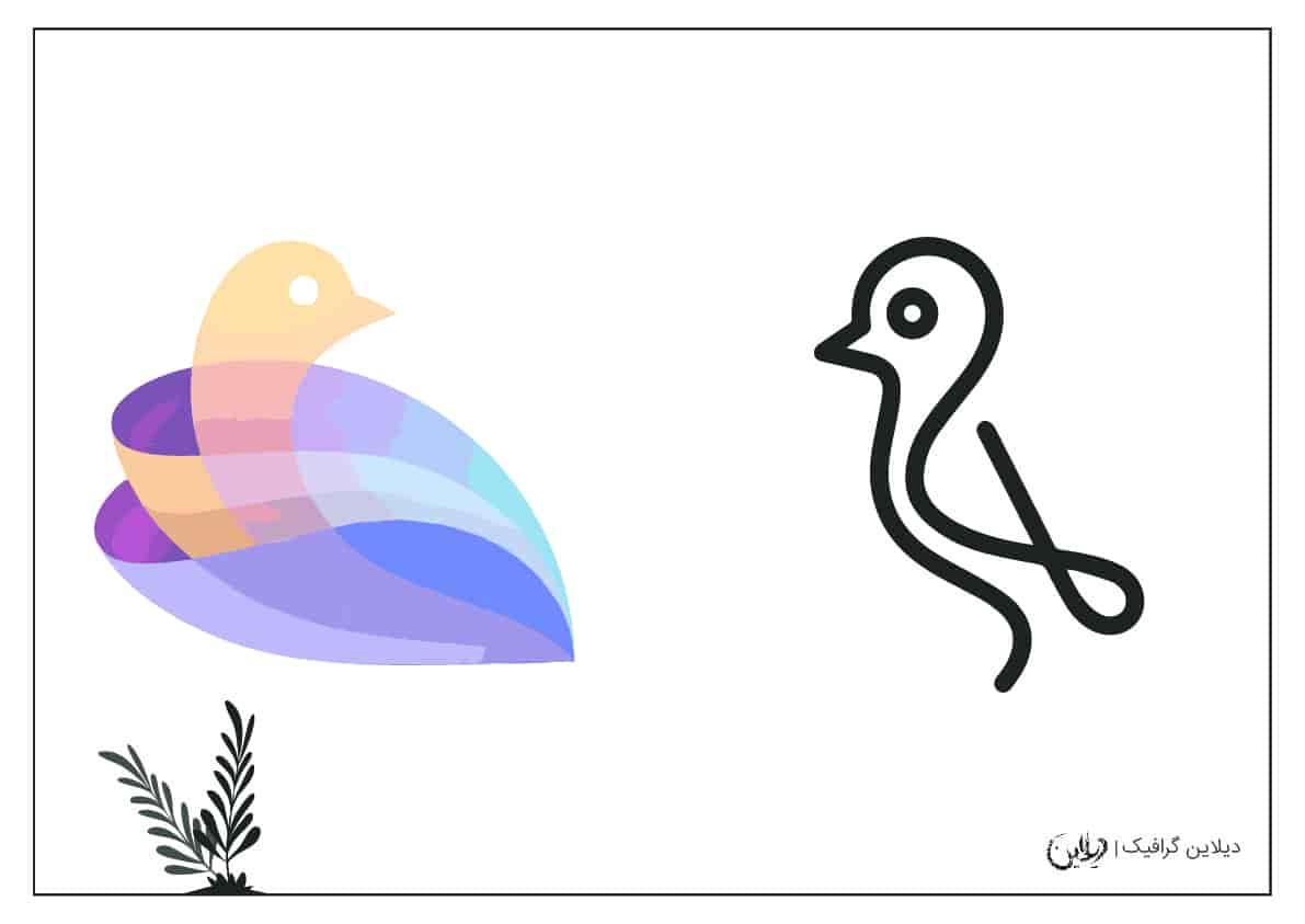 طراحی لوگو با دست