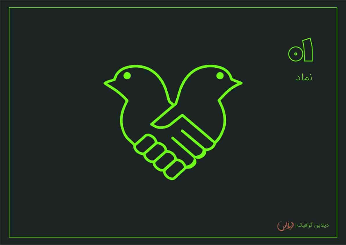 طراحی لوگو با فتوشاپ